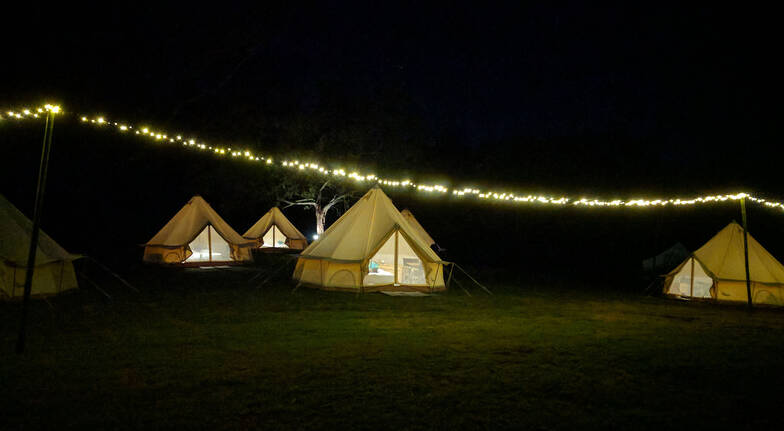 Flash Camps South Coast glamping camp site