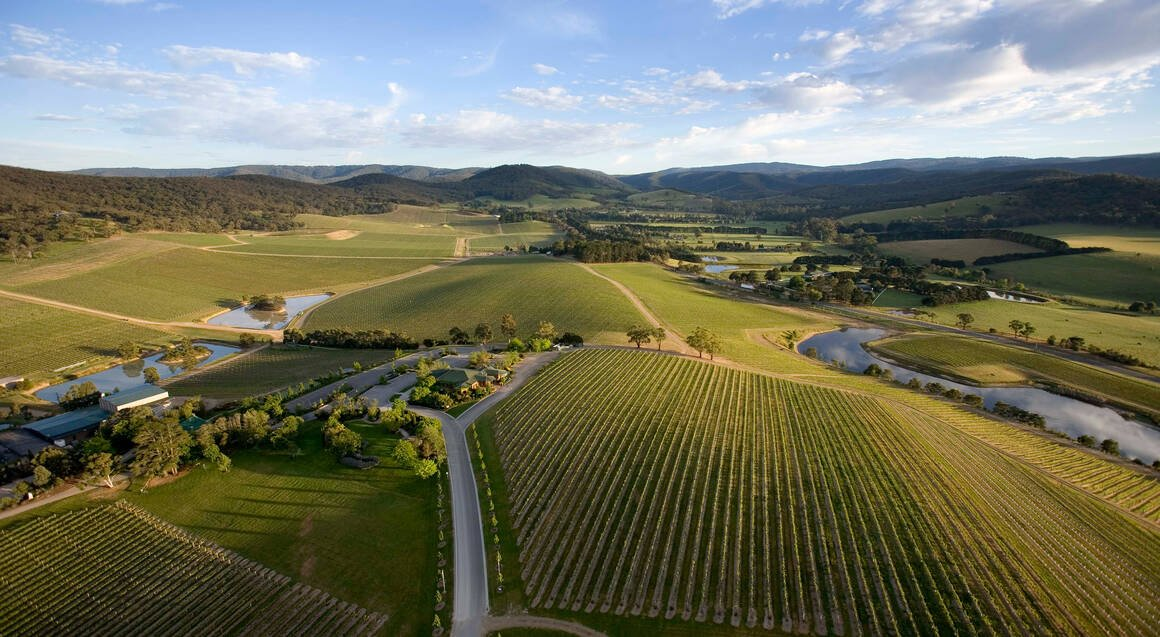 Helicopter Flight to Yarra Valley with Winery Lunch - For 2