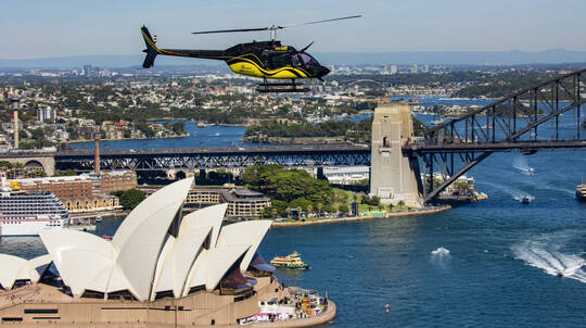 One Front Seat Guaranteed Heli Flight - 20 Mins - For 2