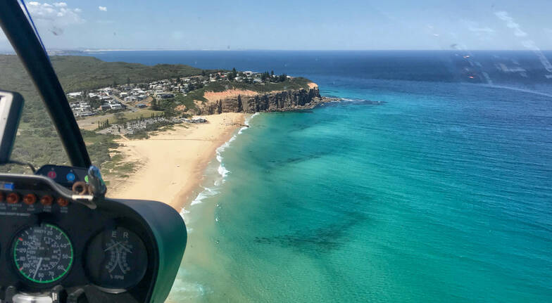 Scenic Helicopter Flight with Two Course Lunch - For 2