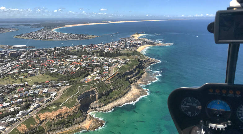Doors Off Helicopter Flight over Newcastle - For 2