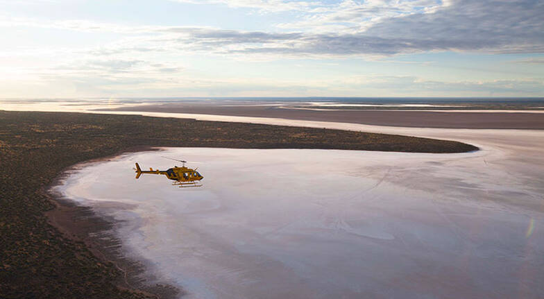Helicopter Flight Over Kings Canyon  15 Minutes  For 2