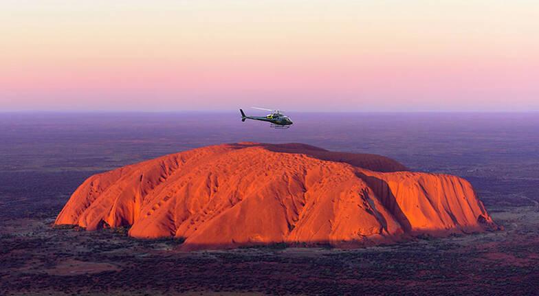 Scenic Helicopter Flight Over Uluru and Kata Tjuta  For 2
