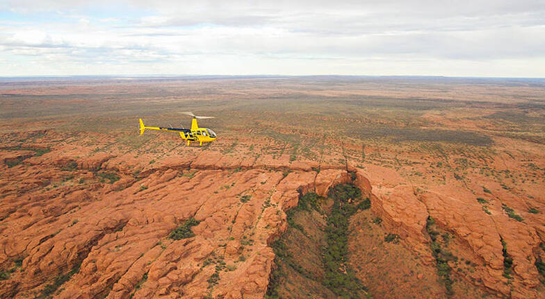 Helicopter Flight Over Kings Canyon - 15 Minutes - For 3