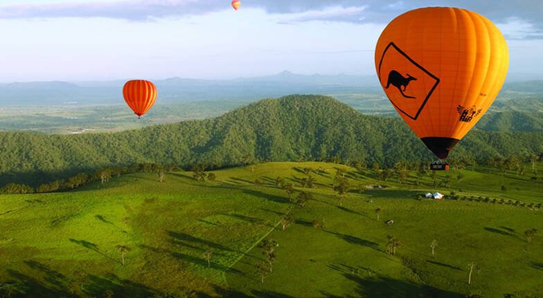 Gold Coast Hinterland Hot Air Balloon Flight with Breakfast