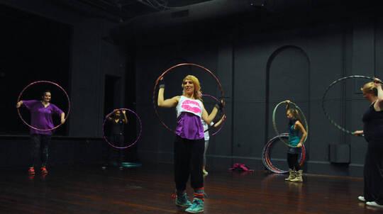 3 x 75 Minute Group Hula Hoop Classes