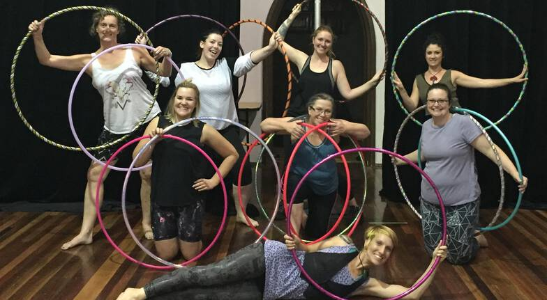 3 x 75 Minute Group Hula Hoop Classes
