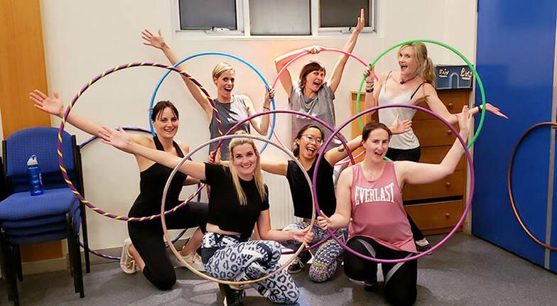 Online Hula Hoop Class - 75 Minutes