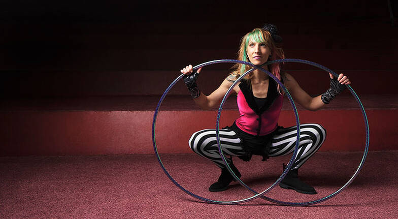 Online Private Hula Hoop Class  60 Minutes