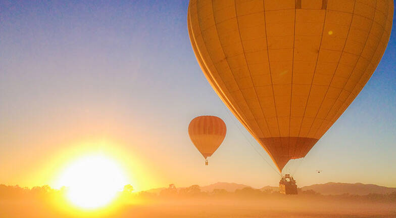 Hot Air Ballooning over Atherton Tablelands with Photo