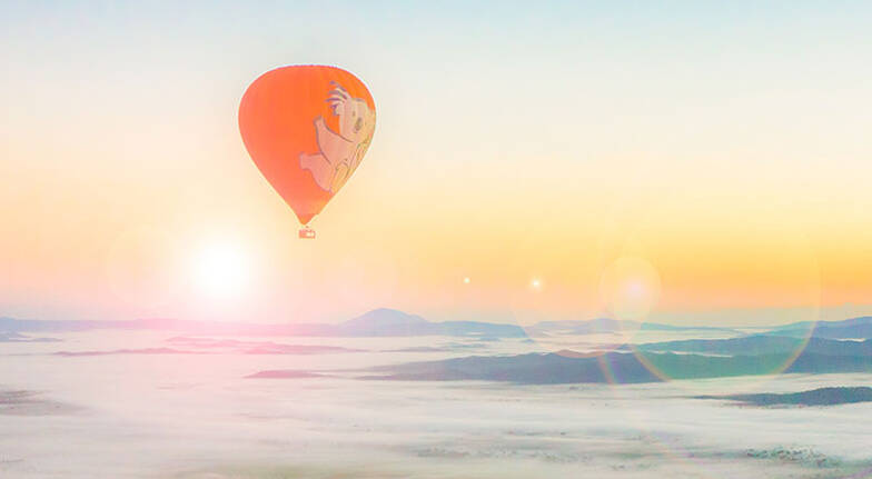 Hot Air Ballooning over the Atherton Tablelands