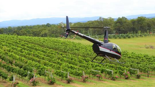 Helicopter Scenic Flight, Massage and 3 Course Lunch - For 2
