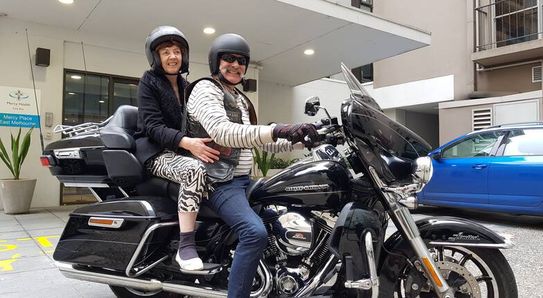 Harley Davidson Motorcycle Melbourne Tour - 1 Hour