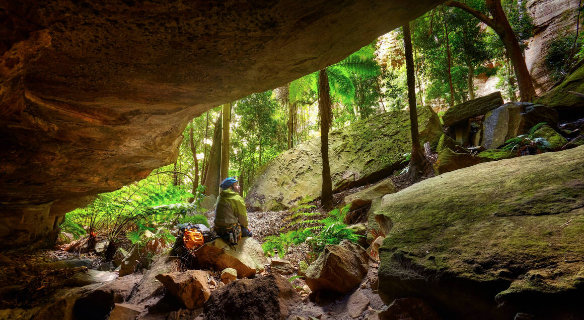 Winter Canyoning Adventure - Blue Mountains