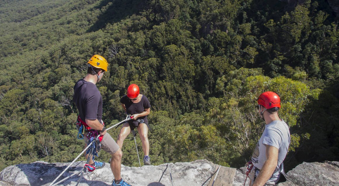 Half Day Abseiling in the Blue Mountains