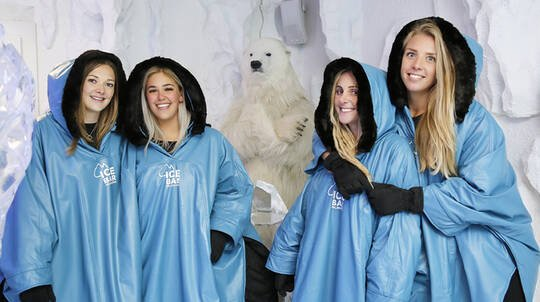 IceBar Entry with Drinks - Family Package