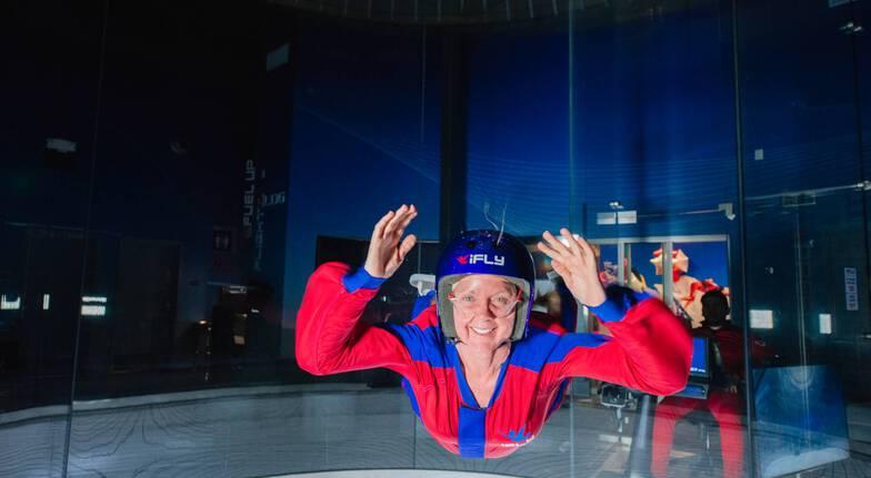 iFLY Brisbane Indoor Skydiving - 2 Flights - Midweek