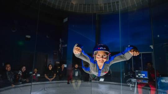 iFLY Brisbane Indoor Skydiving - 5 Flights - Weekend