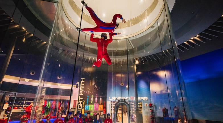 3 Flights Virtual Reality Indoor Skydive  BrisbaneWeekend