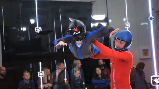 3 Flights Virtual Reality Indoor Skydive - Brisbane-Weekend