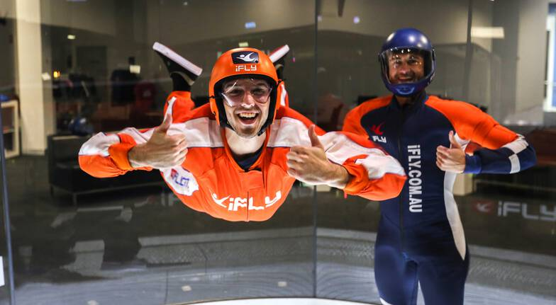Indoor Skydiving Plus - Midweek - 2 Extended Flights