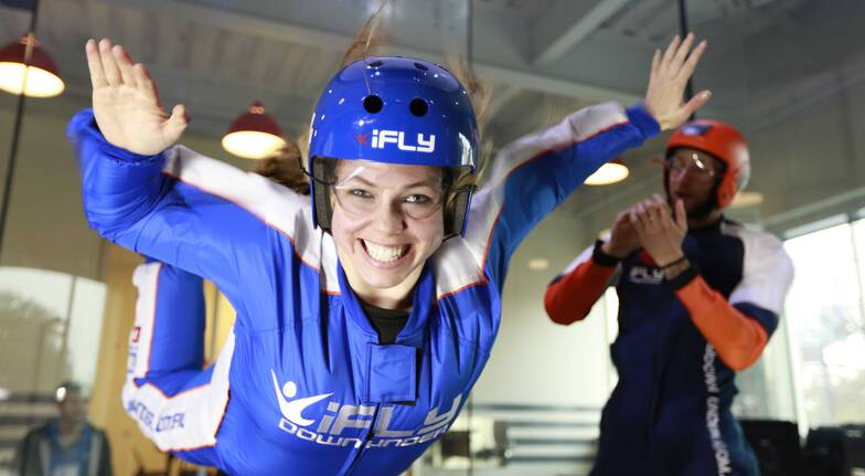 Indoor Skydiving Plus - 4 Flights - Penrith