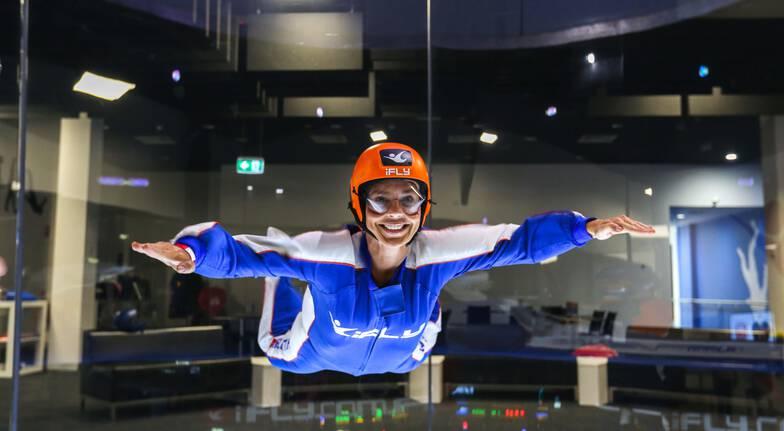 High Fly Indoor Skydive Package - 2 Flights - Penrith
