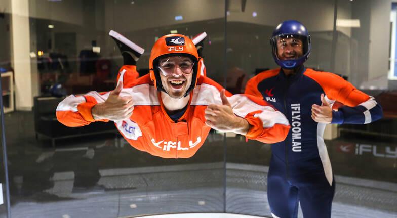 Virtual Reality Indoor Skydive - 5 Flights - Sydney