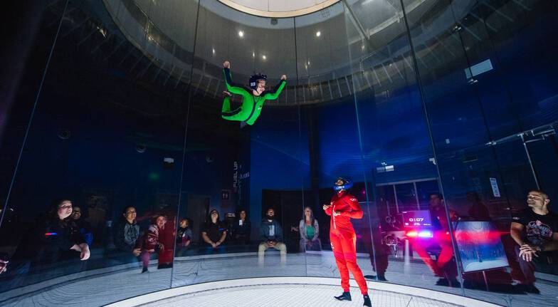 Indoor Skydiving with Photo and Video - 2 Flights - Weekend