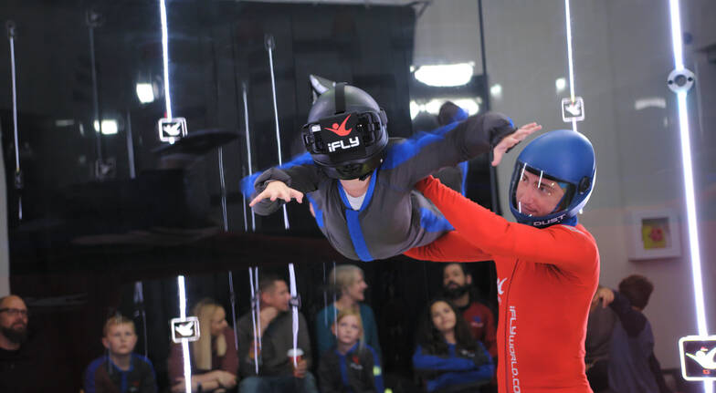 Virtual Reality Indoor Skydive  3 Flights  Weekend