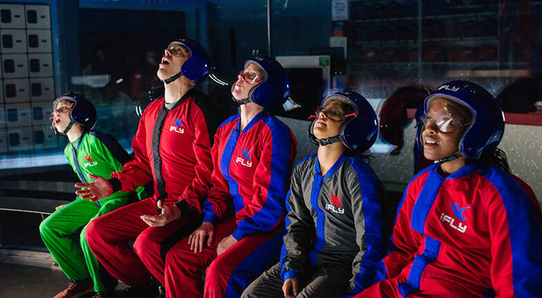 Virtual Reality Indoor Skydive  3 Flights  Midweek