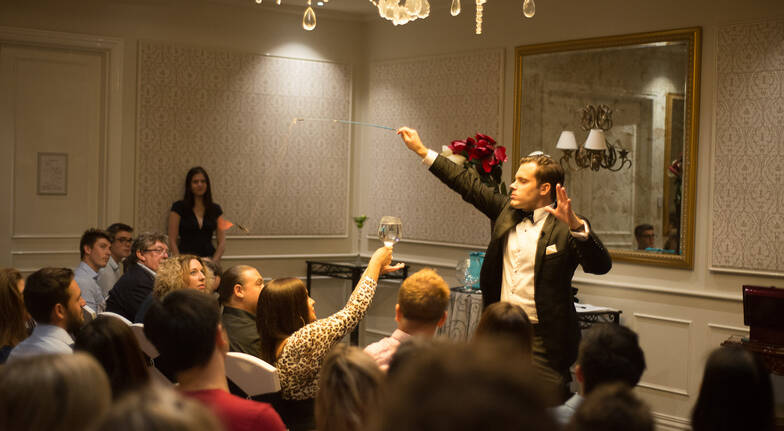 Evening Magic Show at Marriott Melbourne - For 2