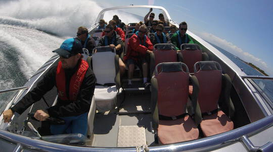 Open Ocean Extreme Jet Boat Ride - 1 Hour
