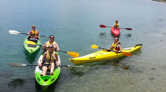 Lake Macquarie Double Kayak Hire - 2 Hours