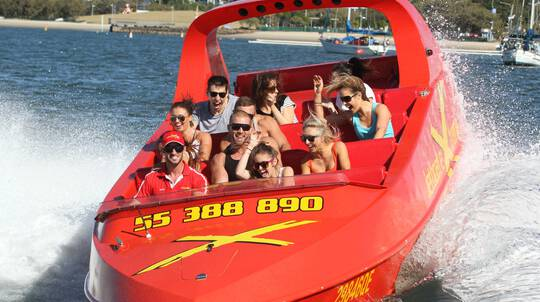 High Speed Jet Boat Ride with 360 Spins – 55 Minutes - For 2