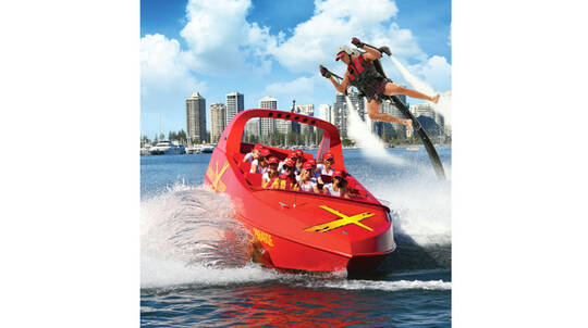 Jet Boat Ride and Jetpack or Flyboard Experience