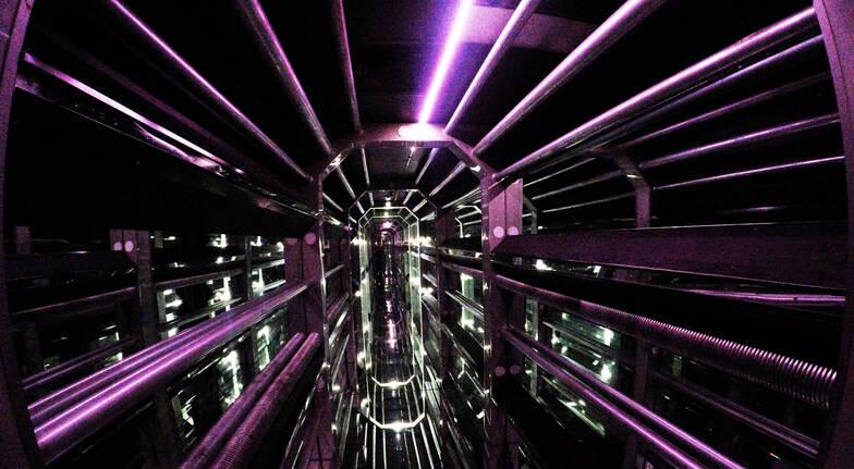 inside Infinity attraction venue gold coast