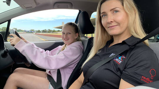 Junior Driver Experience - 2.5 Hours