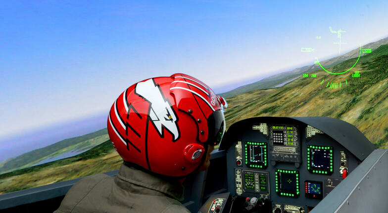 FA 18 Jet Flight Simulator Experience