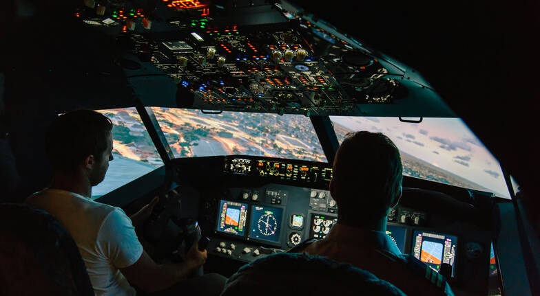 Jet Flight Simulator Perth  90 Minutes  BONUS 45 Minutes