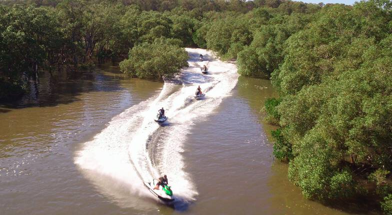 Ultimate Jet Ski Safari with a Passenger - 2.5 Hours