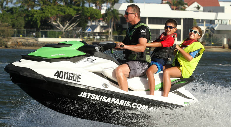 Jet Ski Safari Twin Ride - 60 Minutes - For 2