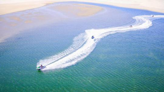 30 Minute Jet Ski Guided Ride with Photos - For 2