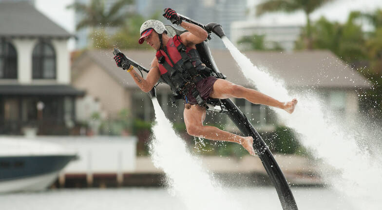 Jetpack and Flyboard Combo  Experience  Central Coast