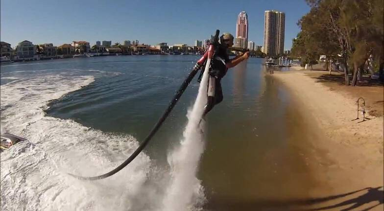 Flyboard Teaser Experience  Central Coast