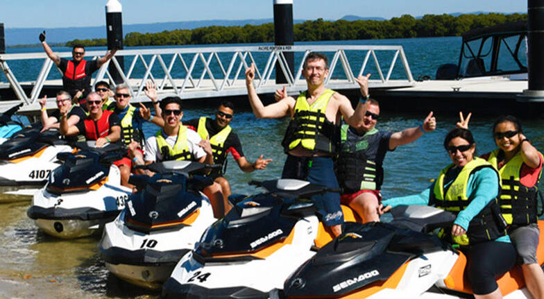 Jet Ski Tour on the Hawkesbury River with Lunch - 90 Minutes