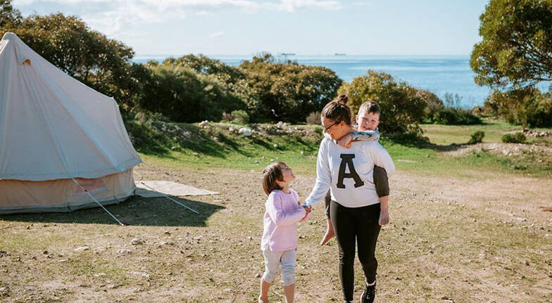 Seaside Glamping Stay in Lincoln National Park - 2 Nights