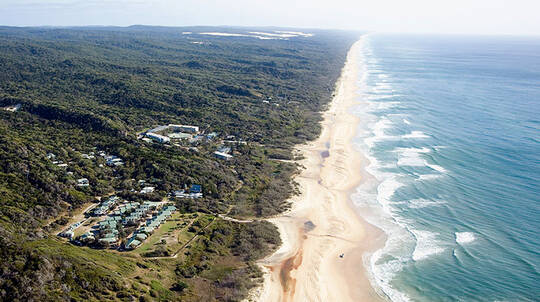 2 Night Fraser Island Stay at Eurong Beach Resort - For 2