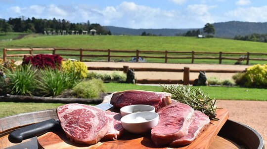 Sunset Premium Wagyu BBQ Dinner with Wine - For 2
