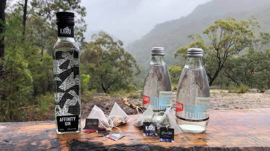 Gin and Tea Pack with Virtual Cellar Door Tour
